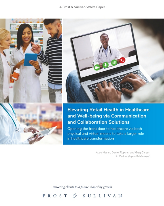 Microsoft: Neil Jordan, Retail Healthcare Innovation… thoughts on Elevating Retail Healthcare and Wellbeing